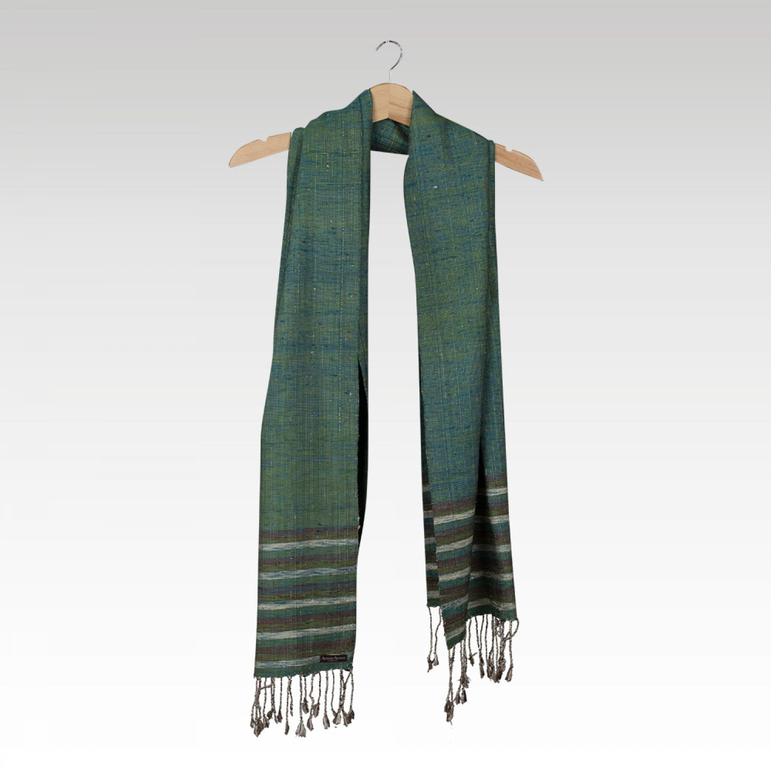 MEN SCARF RAW SILK