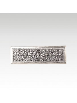 RECTANGLE BOX WITH FLOWER MOTIFS