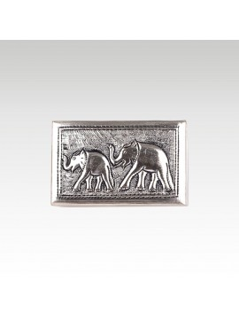 BRONZE BOX ELEPHANT