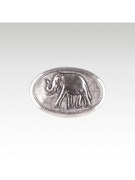 BRONZE BOX ELEPHANT EGGSHAPE