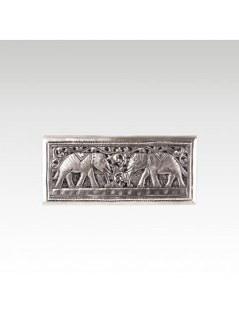 RECTANGLE TWO ELEPHANTS BOX