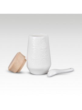 TA PHROM KIL MOTIF SALT & PEPPER BOTTLE