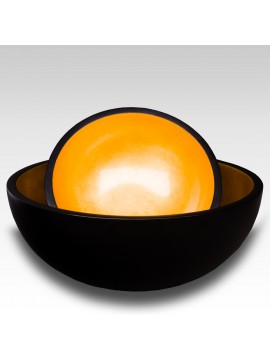 LACQUER BROWN RICE BOWL