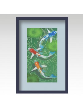 Fishes on water