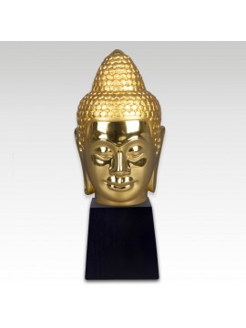 Gold Head of Buddha