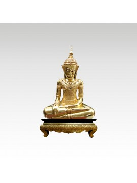 Golden Buddha in Meditation
