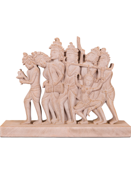 GREAT BAS-RELIEF OF MUSICIANS GROUP