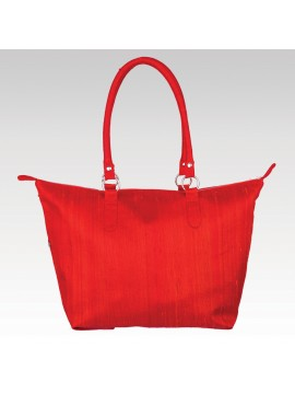 LEISURE BAG (RAW SILK)