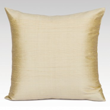 RAW SILK CUSHION COVER SQUARE