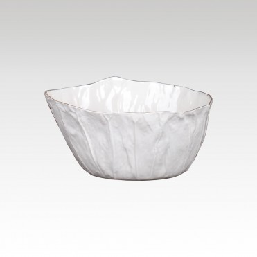 Lotus Leaf Golden Bowl